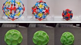 one-piece silicone sphere, dubbed a buckliball