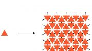 Ordered planar polymers that form a kind of molecular carpet on a nanometre scale
