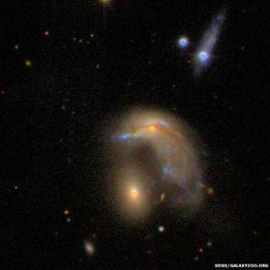 penguin-shaped galaxy
