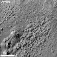 pitted terrain observed by NASA