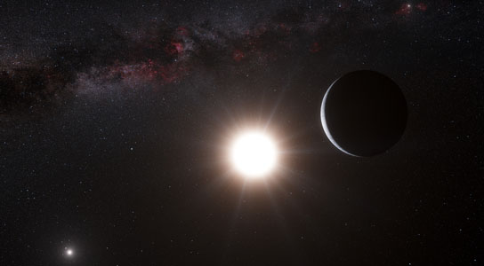 planet orbiting Alpha Centauri B