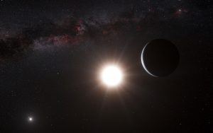 planet orbiting the star Alpha Centauri B