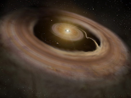 protoplanetary-disk-around-J-1604