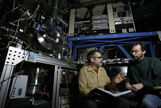 Sandia Combustion Researchers