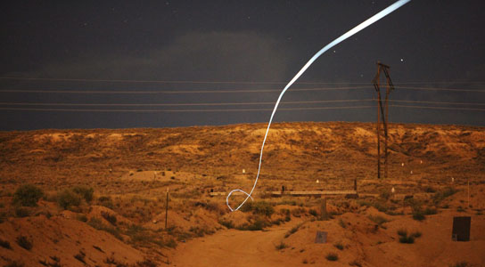 self-guided bullet at Sandia National Laboratories