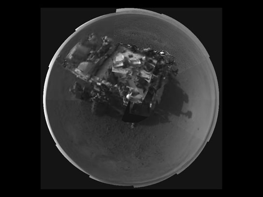 self portrait of NASA's Curiosity
