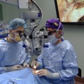Doctors at Toronto Western Hospital preform a stem cell transplant to help a patient regain their sight. Credit: CTV News
