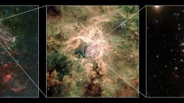 super-cluster R136 in the Tarantula nebula