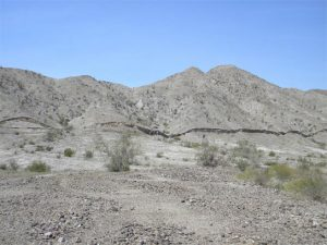 surface rupture, called a scarp, formed in just seconds along the Borrego fault