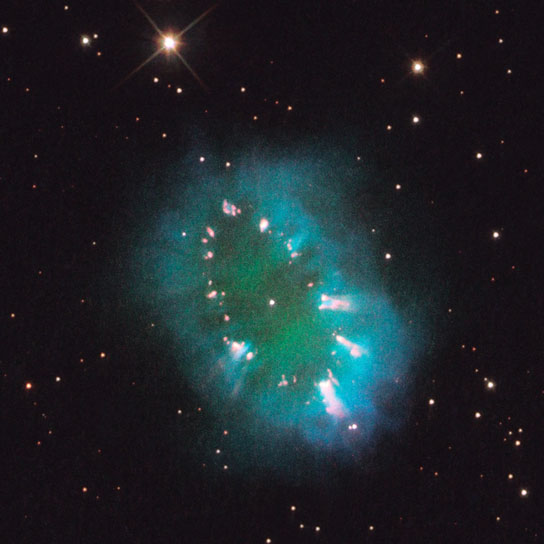 the Necklace Nebula, also called PN G054.2-03