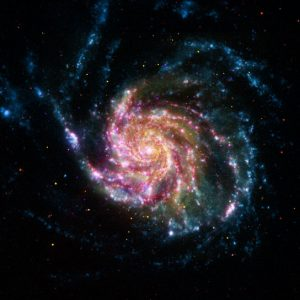 the Pinwheel Galaxy, or M101