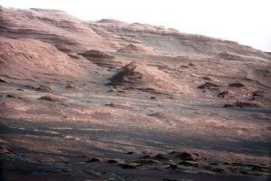 the base of Mount Sharp