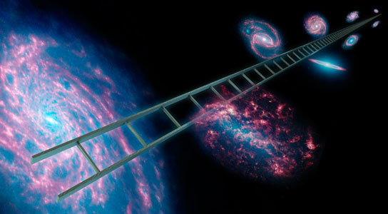 the-cosmic-distance-ladder-used-to-measure-the-expansion-rate-of-the-universe