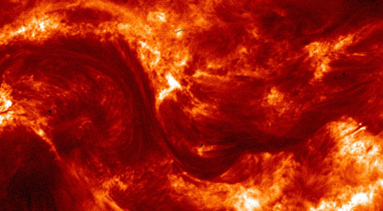 the highest-resolution images ever taken of the sun's corona in the extreme ultraviolet wavelength