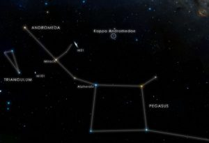 the star Kappa Andromedae