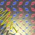 ultrashort pulse of terahertz light distorting a manganite crystal lattice