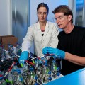 using microbes that can convert renewable electricity into carbon-neutral methane