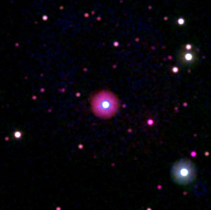 view of HD 189733b's star
