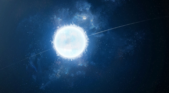 Possible Death of Solar System Seen in White Dwarf Stars