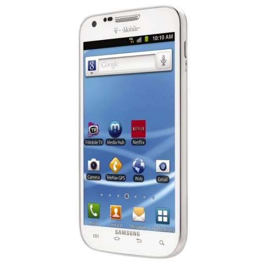 Samsung And T-Mobile To Launch A White Galaxy S II
