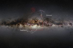 wide-field-view-of-the-Milky-Way-shows-the-extent-of-the-new-VISTA-infrared-image-of-the-center-of-the-galax