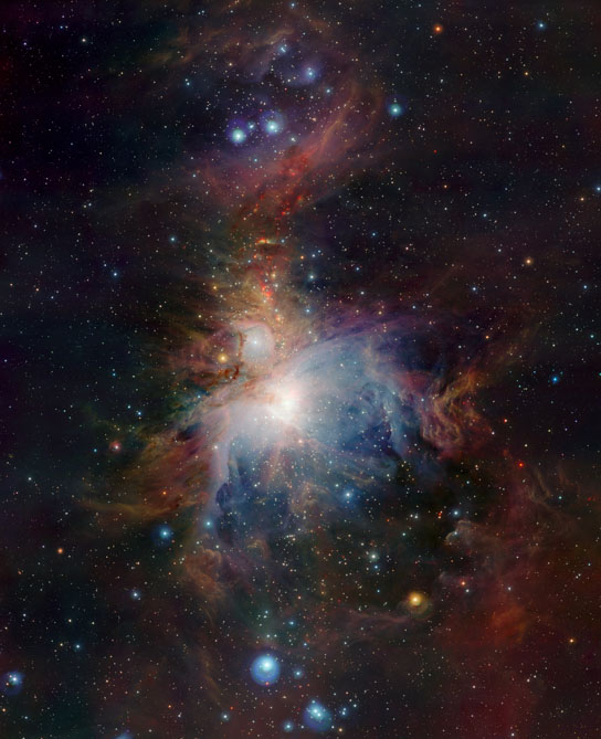 wide-field view of the Orion Nebula (Messier 42)