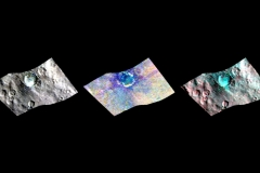 Bright Spots and Color Differences Revealed on Ceres