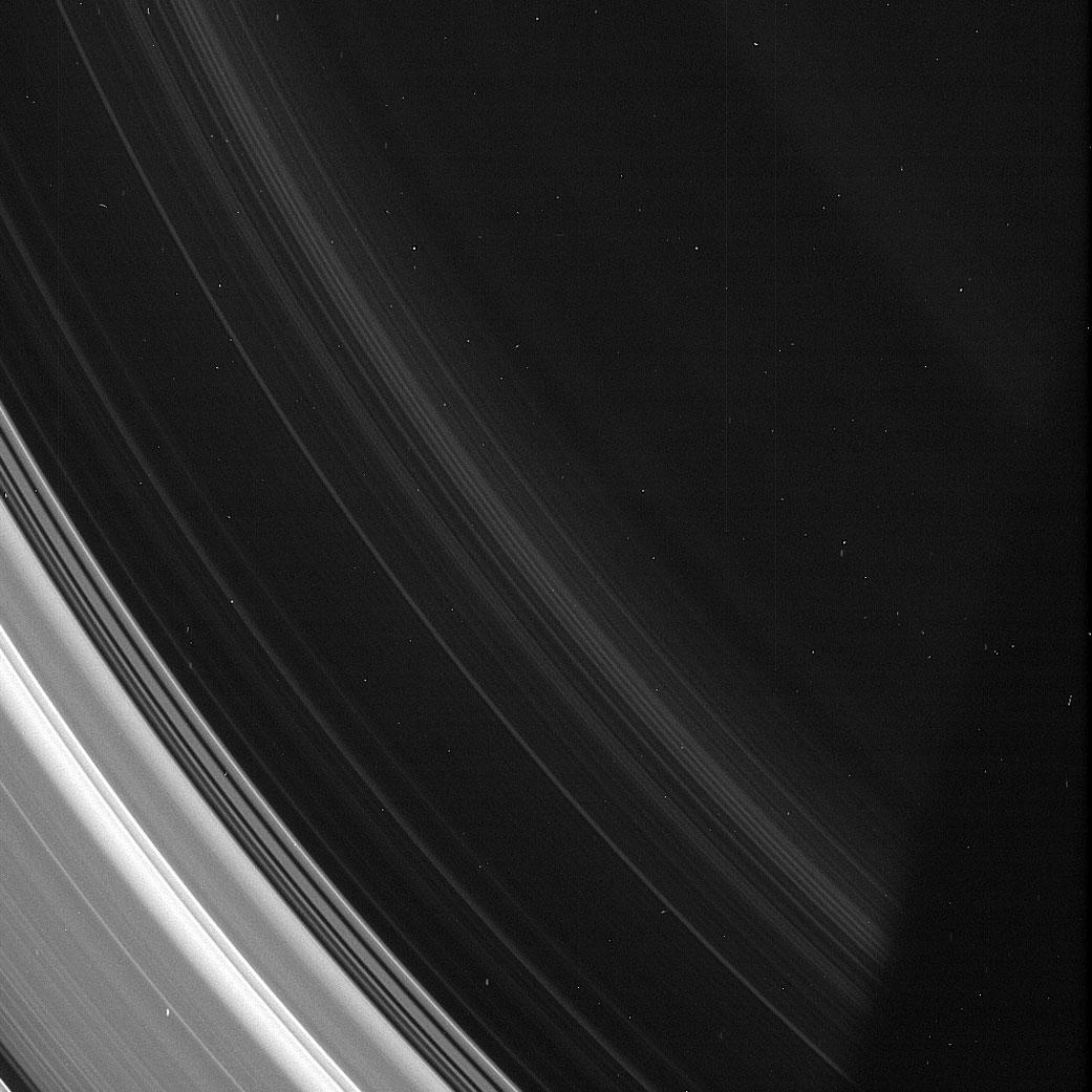 Cassini Reveals the Spirals in Saturn's D Ring