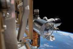 ISS SpaceX Crew Dragon and HTV-9 Resupply Ship