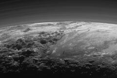 Pluto 'Wows' in Spectacular New Backlit Panorama