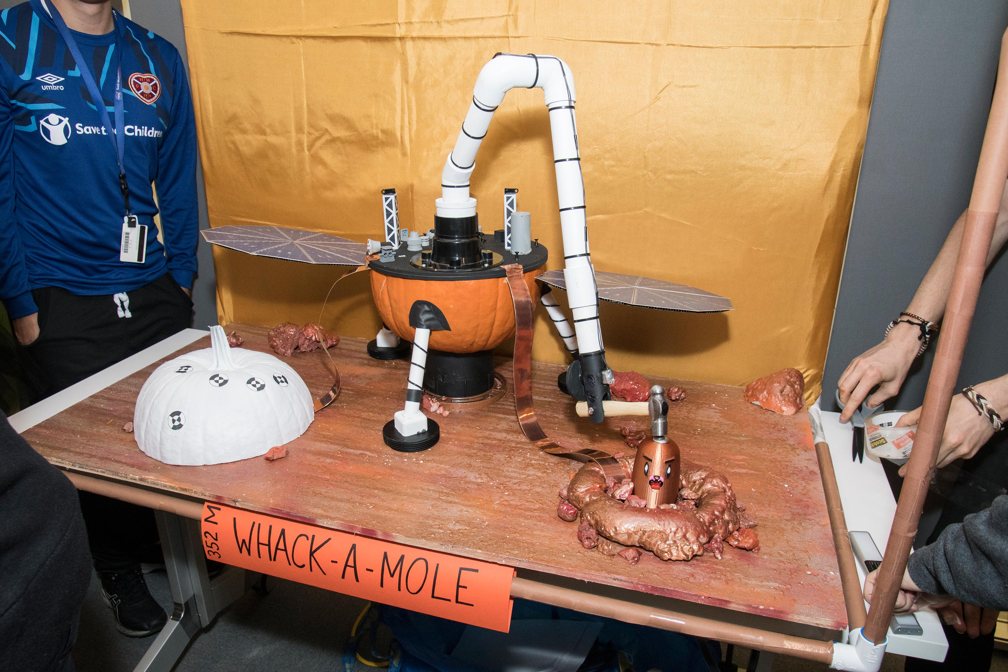 NASA-JPL Annual Pumpkin-Carving Contest 2019