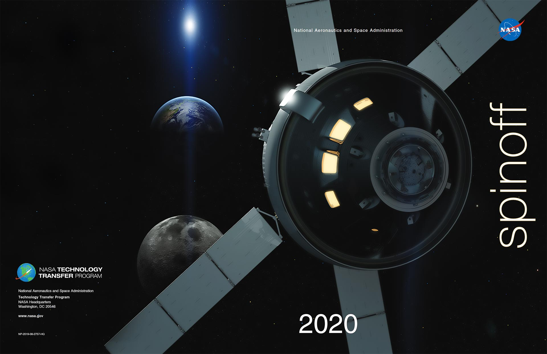 NASA Spinoff 2020 Brochure Cover