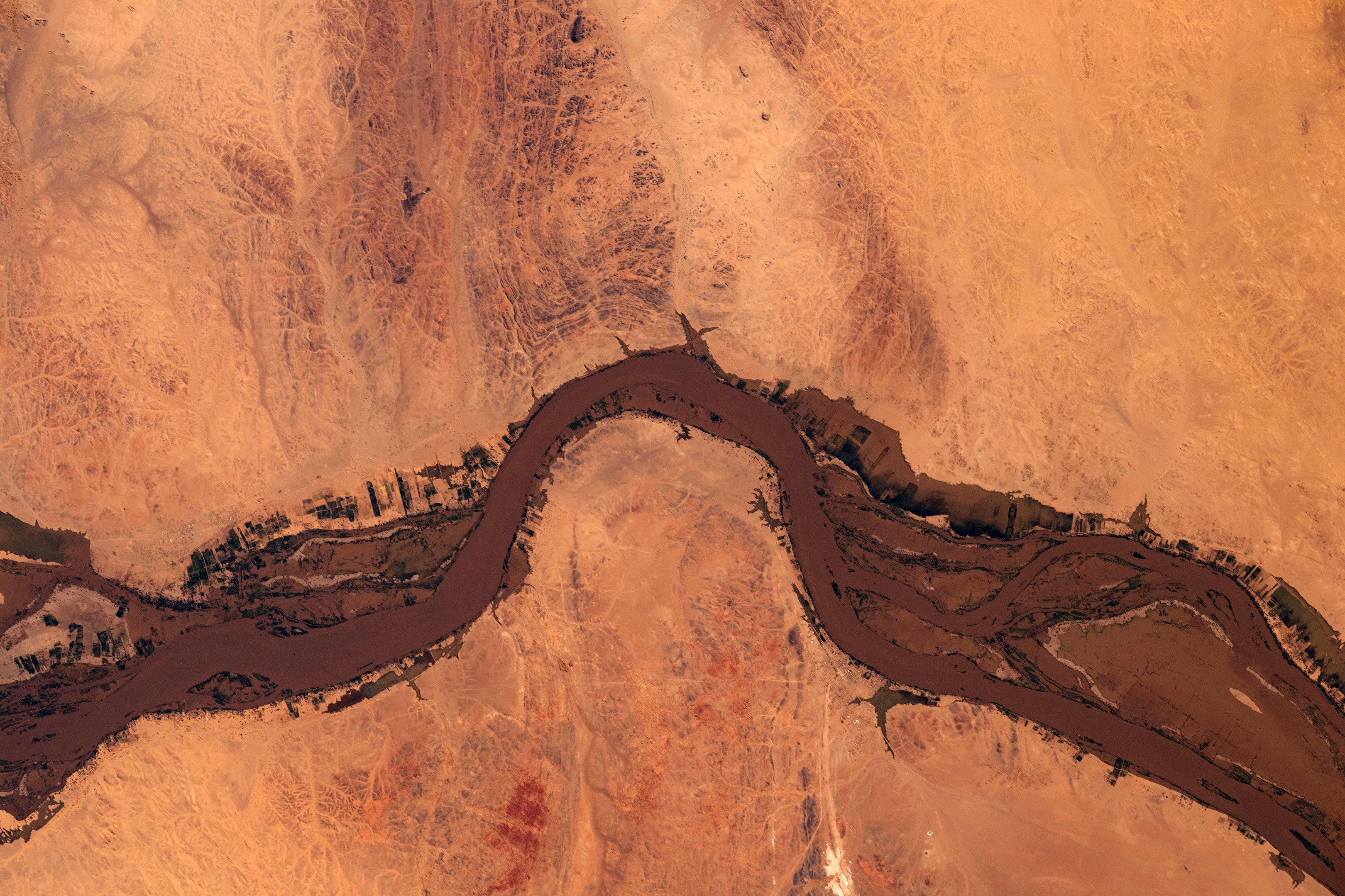 Flooding Along the Nile in Sudan