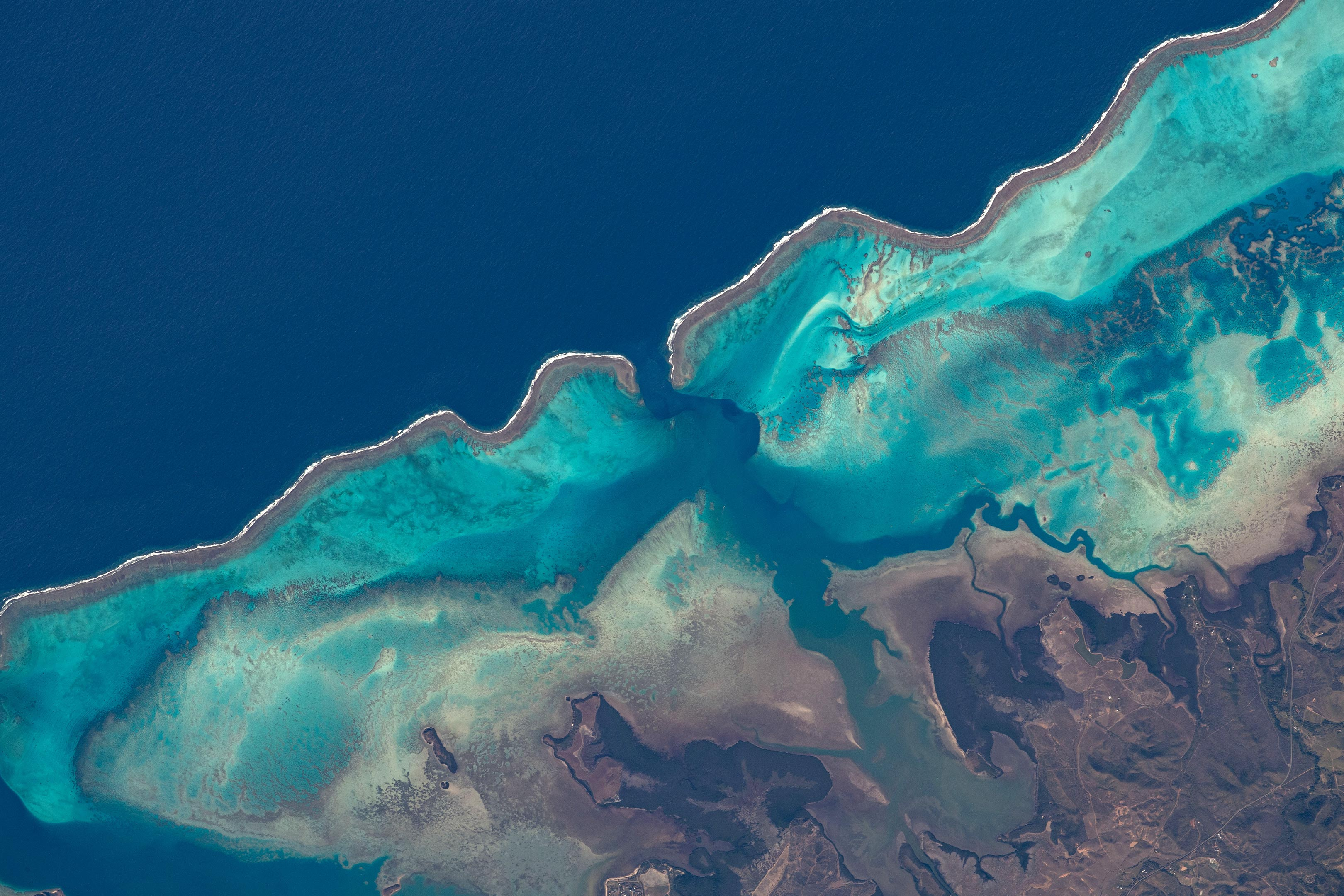 Reefs of Moindou Bay, New Caledonia
