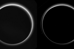 Image of Pluto's Haze Layers
