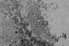 New Horizons Image of Pluto's Surface