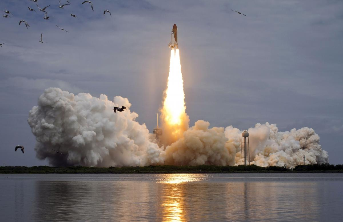 space shuttle launch to space - photo #15