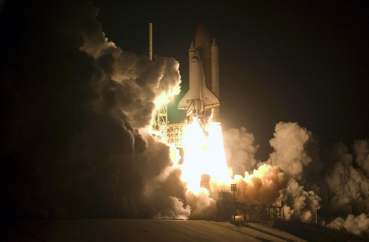 space shuttle launch to space - photo #26