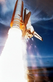 Space Shuttle Challenger Launch with Spacelab 2