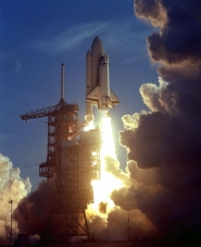 First Shuttle Mission Launch