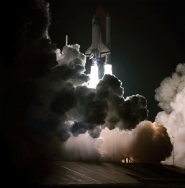 STS-8: Nighttime Launch of Space Shuttle Challenger