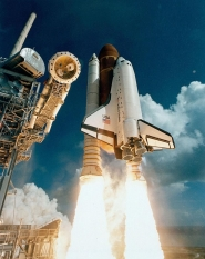 Shuttle Atlantis' Maiden Launch