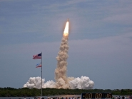 Space Shuttle Atlantis Lifts Off!