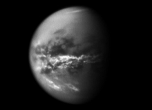 Cassini Observes Cloud Activity on Titan