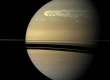Cassini Watches Huge Storm Erupted and Encircled Saturn