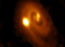 ALMA Views Triple Star System