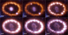 Hubble Images of Supernova 1987A